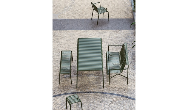 HAY - Palissade Arm Chair - olive - 3
