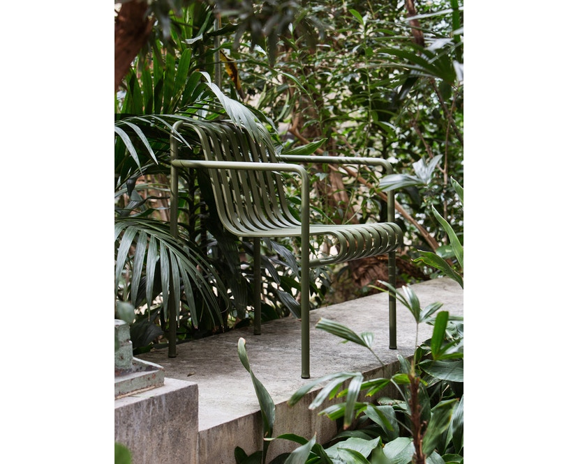 HAY - Palissade Arm Chair - olive - 4