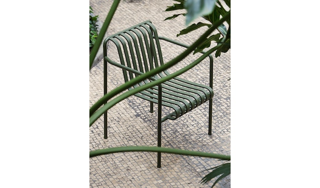 HAY - Palissade Arm Chair - olive - 6