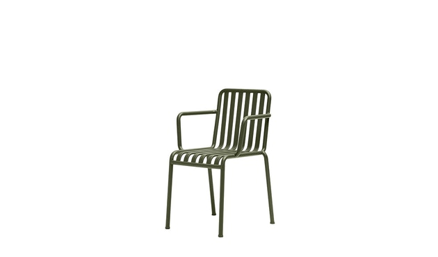 HAY - Palissade Arm Chair - olive - 1