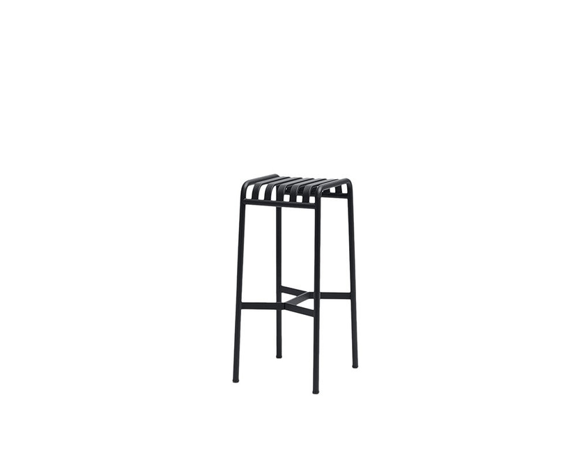 HAY - Palissade Bar Stool - anthracite - 1