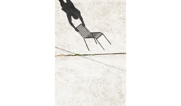 HAY - Palissade Chair - sky grey - 7