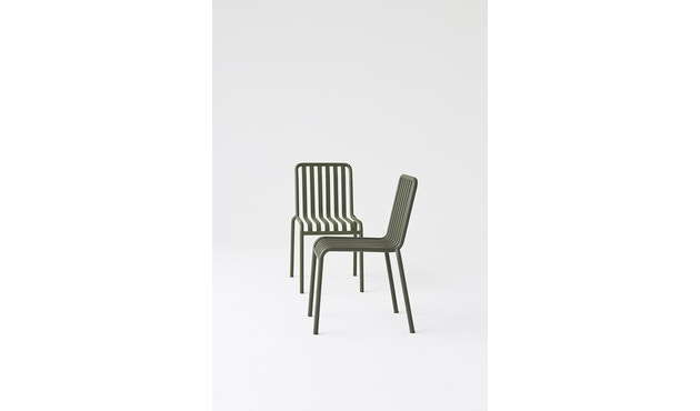 HAY - Palissade Chair - sky grey - 9