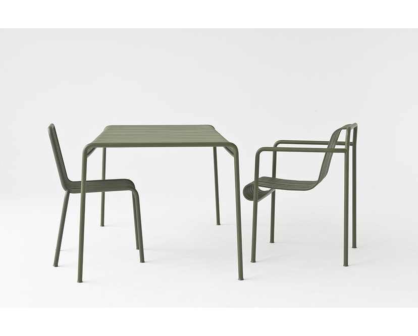 HAY - Palissade Chair - olive - 8