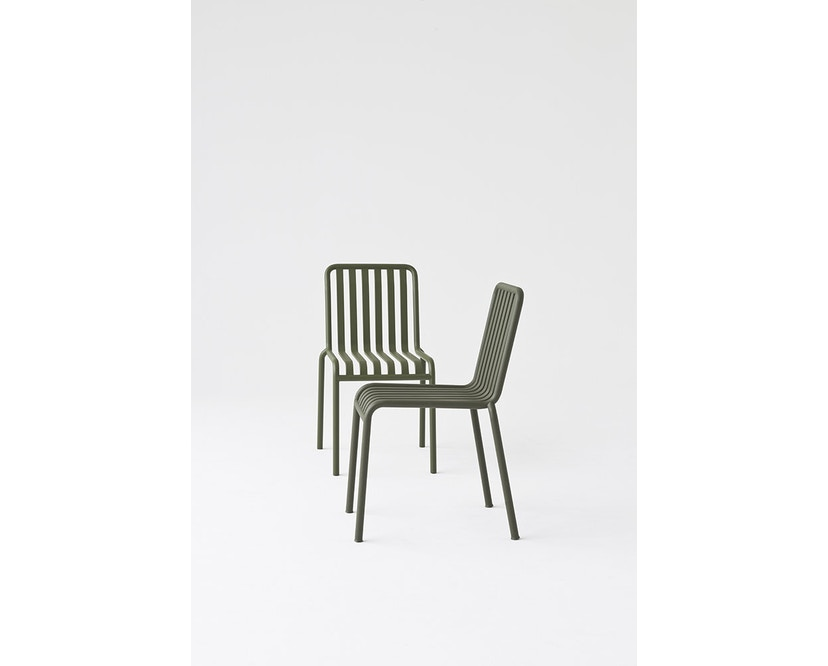 HAY - Palissade Chair - olive - 9