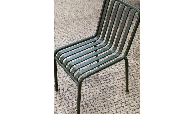HAY - Palissade Chair - olive - 10