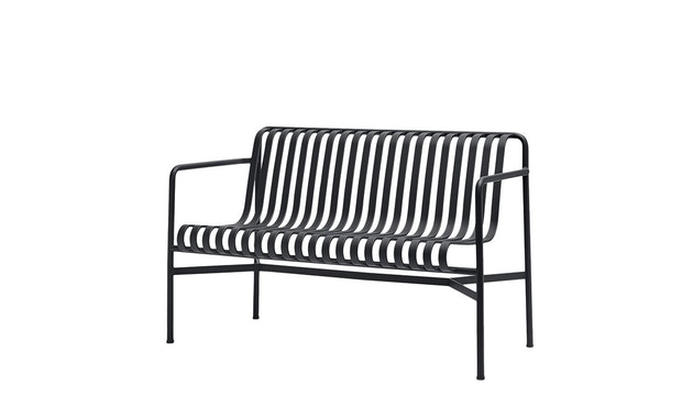 HAY - Palissade Dining Bench - anthracite - 1