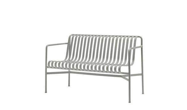 HAY - Palissade Dining Bench - sky grey - 1