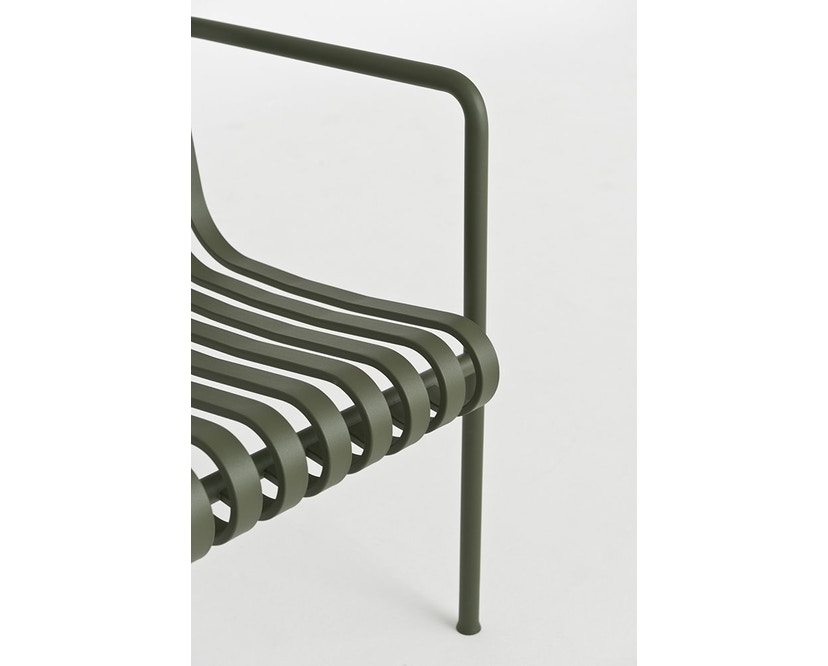 HAY - Palissade Dining Bench - olive - 3