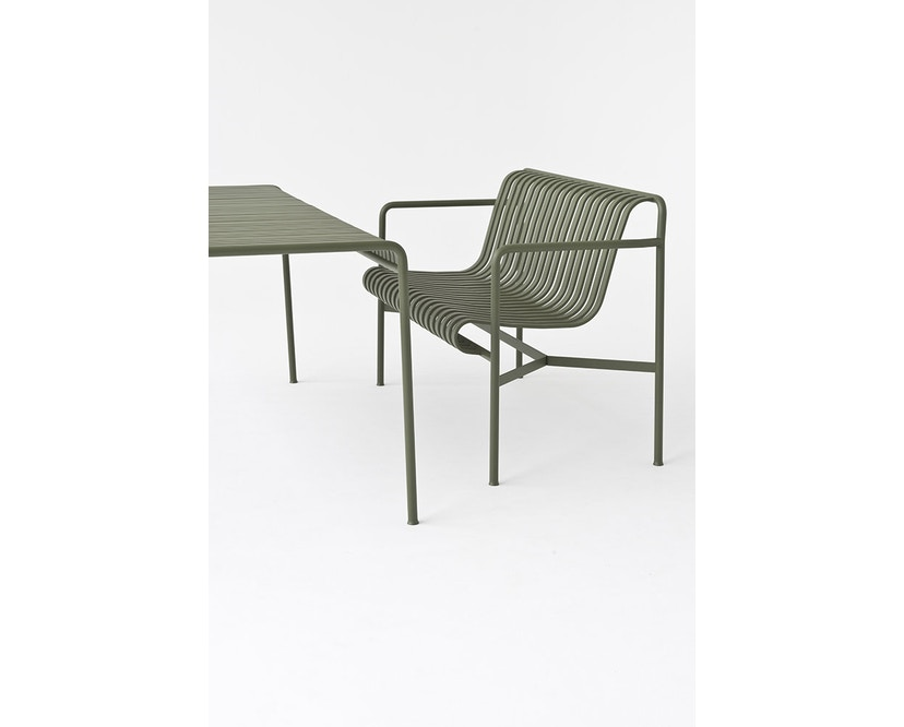 HAY - Palissade Dining Bench - olive - 4