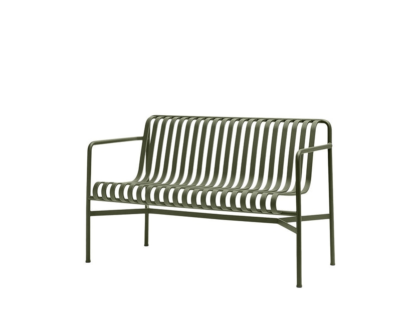 HAY - Palissade Dining Bench - olive - 1