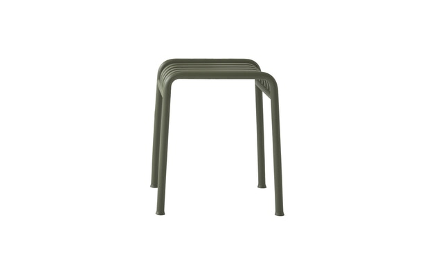 HAY - Tabouret Palissade - anthracite - 2