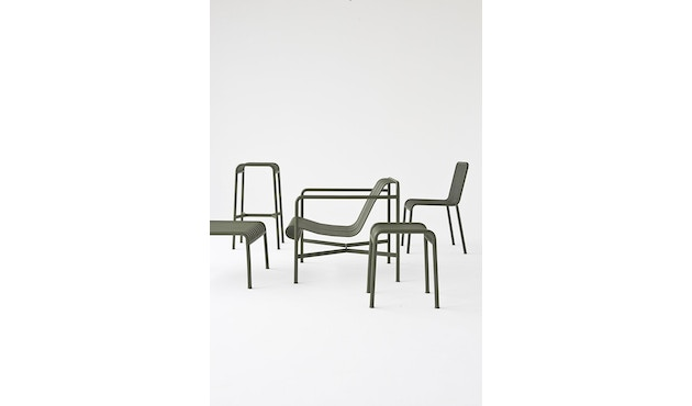 HAY - Tabouret Palissade - anthracite - 3