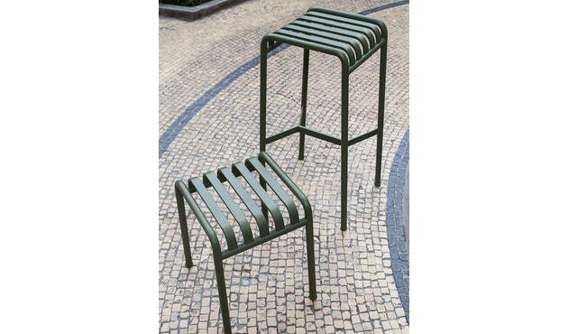 HAY - Tabouret Palissade - anthracite - 5