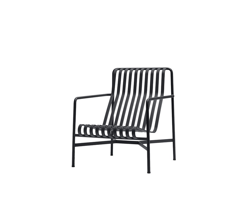 HAY - Palissade Lounge Chair High - anthracite - 1