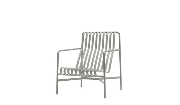 HAY - Palissade Lounge Chair High - sky grey - 1