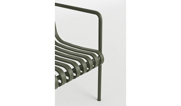 HAY - Palissade Lounge Chair High - olijf - 5