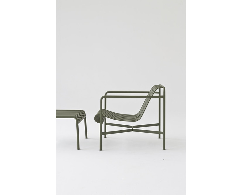 HAY - Palissade Lounge Chair Low - anthracite - 4