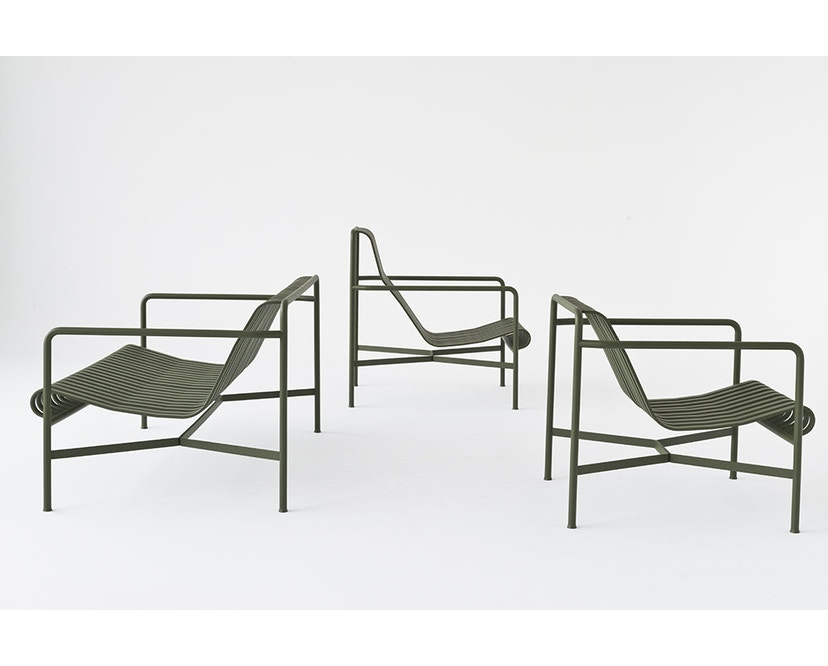 HAY - Palissade Lounge Chair Low - anthracite - 6