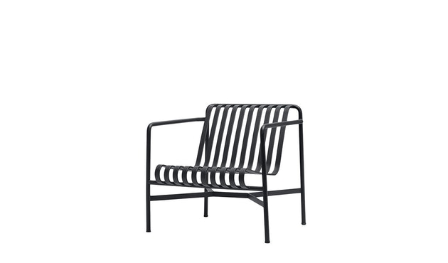 HAY - Palissade Lounge Chair Low - anthracite - 1