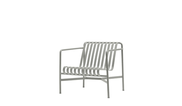 HAY - Palissade Lounge Chair Low - sky grey - 1
