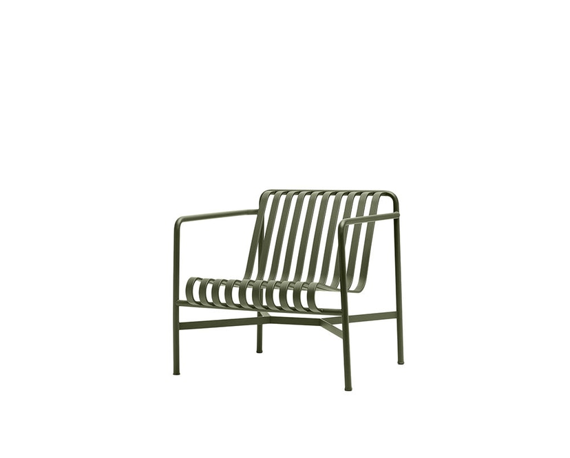HAY - Palissade Lounge Chair Low - olive - 1