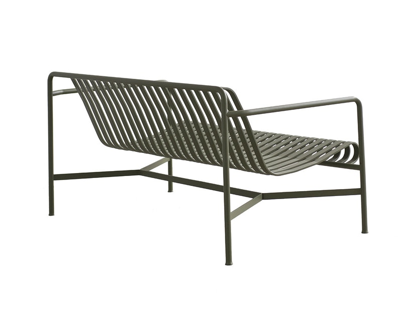 HAY - Palissade Lounge sofa - olive - antraciet - 2