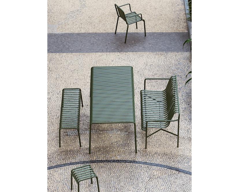 HAY - Palissade Lounge sofa - olive - antraciet - 5