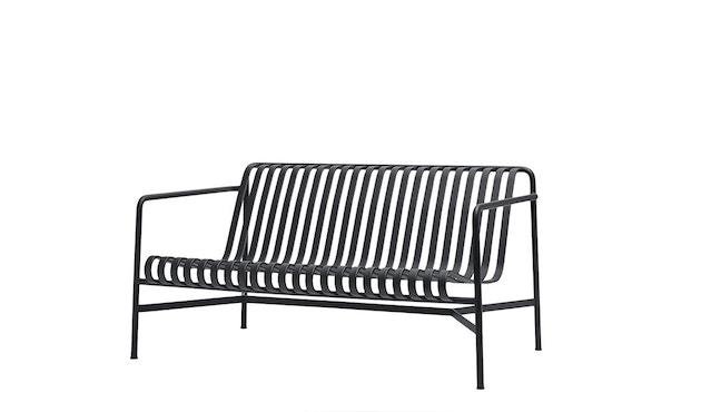 HAY - Palissade Lounge sofa - olive - antraciet - 1