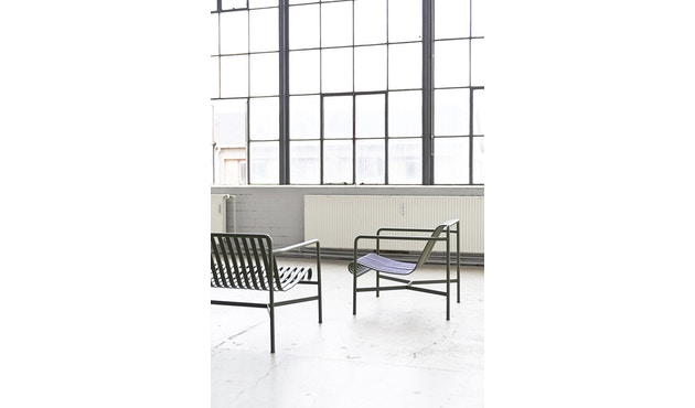 HAY - Palissade Lounge Sofa - sky grey - 3