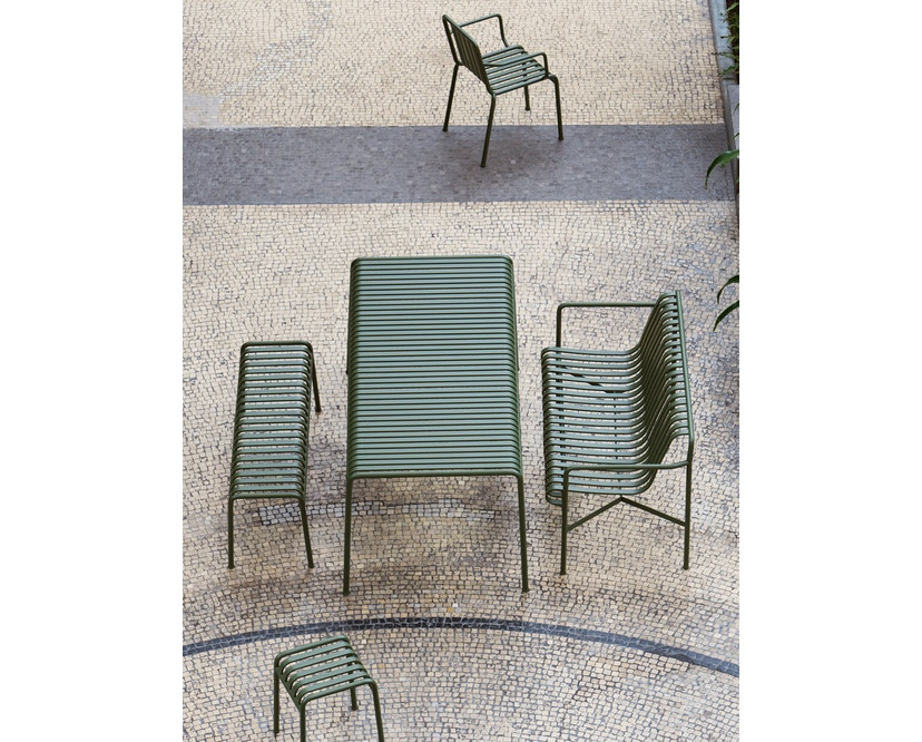 HAY - Palissade Lounge Sofa - sky grey - 5