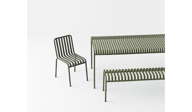 HAY - Table Palissade - blanc crème - 80 x 80 cm - 6