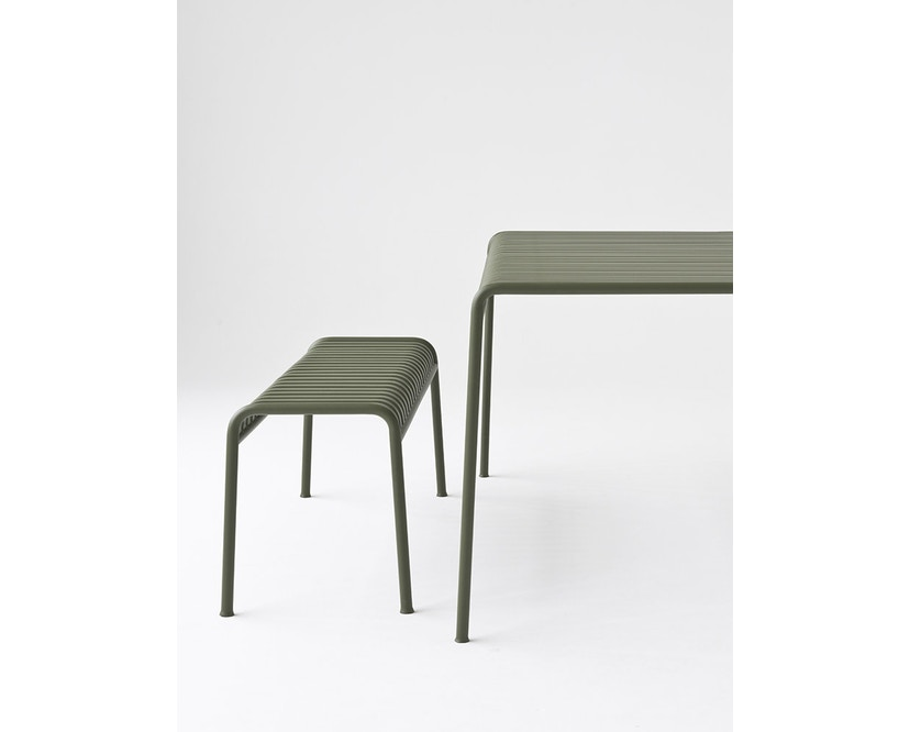 HAY - Table Palissade - blanc crème - 80 x 80 cm - 7