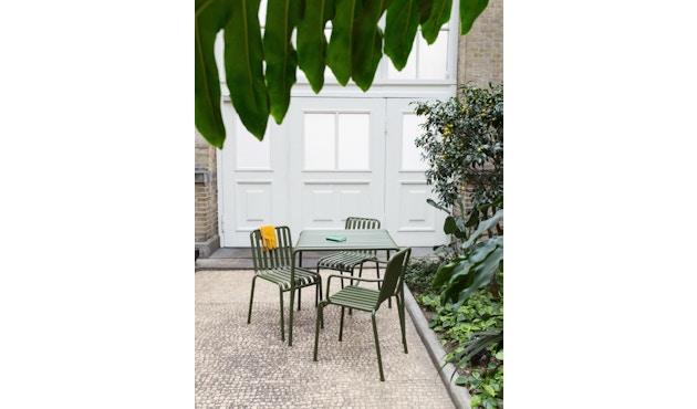 HAY - Table Palissade - blanc crème - 80 x 80 cm - 9
