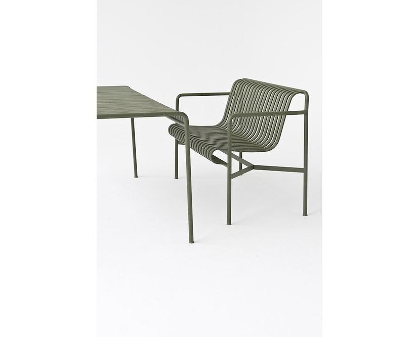 HAY - Palissade Tisch - olive - 82,5 x 90 cm - 5