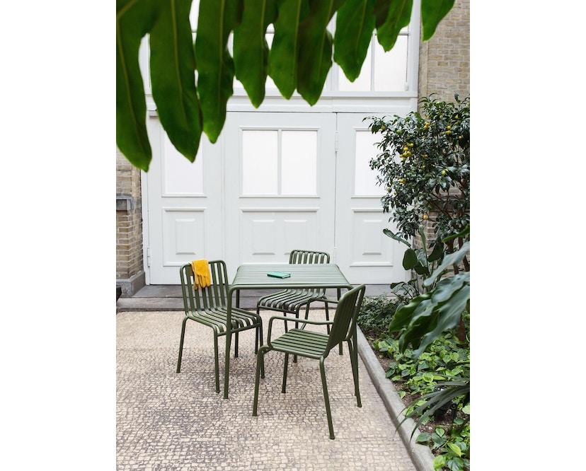 HAY - Palissade Tisch - olive - 82,5 x 90 cm - 6