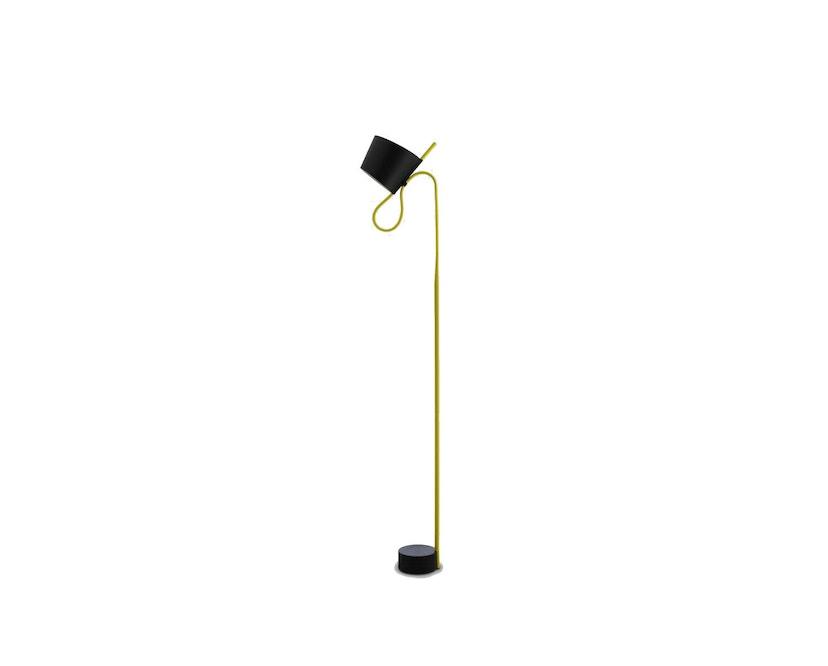 HAY - Rope Trick Stehleuchte - gelb - 0