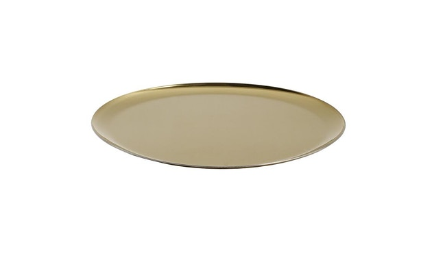 HAY - Serving Tray Tablett - gold - 1