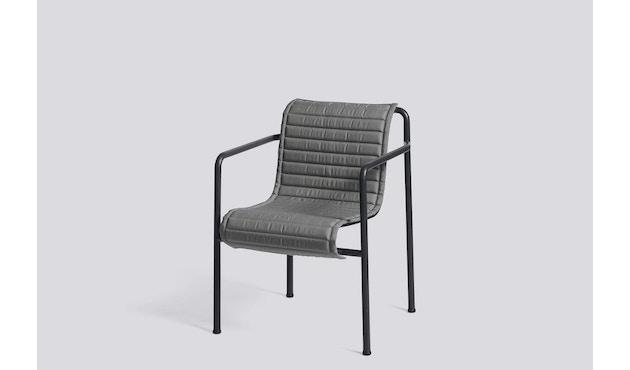 HAY - Zitkussen Palissade Dining Arm Chair - antraciet - 2