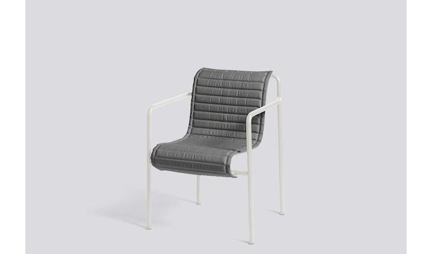 HAY - Zitkussen Palissade Dining Arm Chair - antraciet - 3