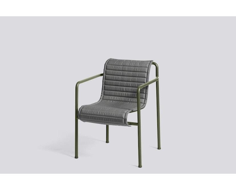 HAY - Zitkussen Palissade Dining Arm Chair - antraciet - 4