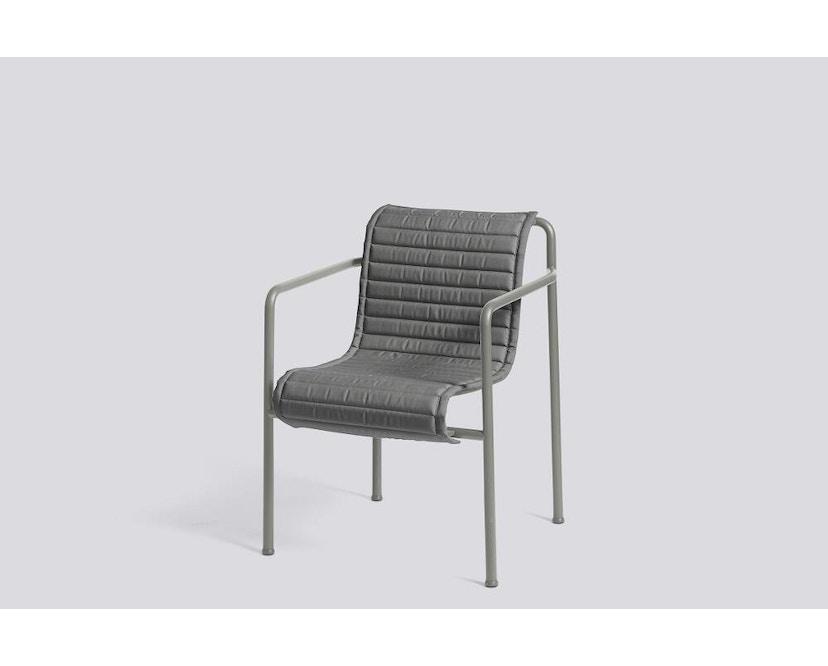 HAY - Zitkussen Palissade Dining Arm Chair - antraciet - 5