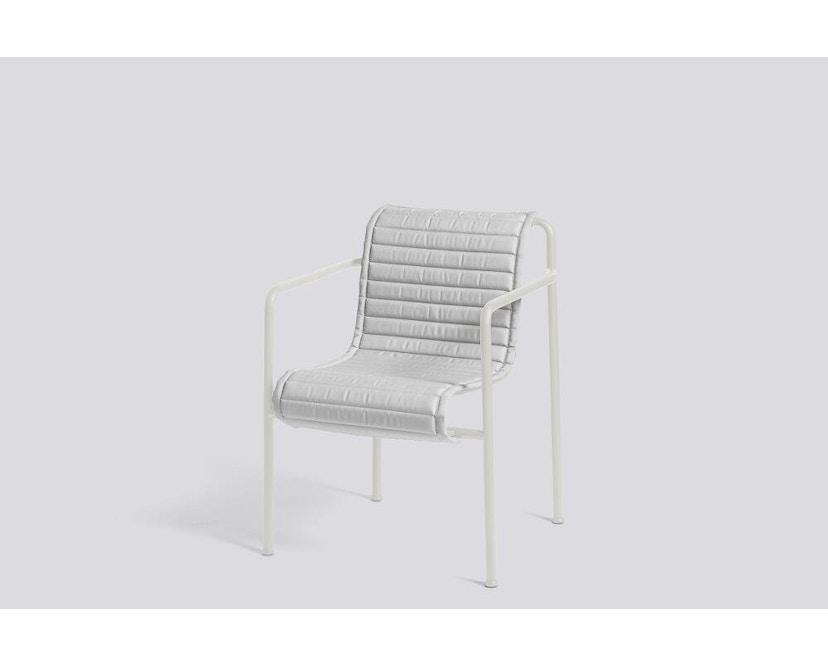 HAY - Sitzauflage für Palissade Dining Arm Chair - gesteppt - sky grey - 2