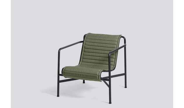 HAY - Zitkussen Palissade Lounge Chair Low - olijf - 3