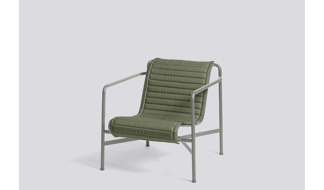 HAY - Zitkussen Palissade Lounge Chair Low - olijf - 5