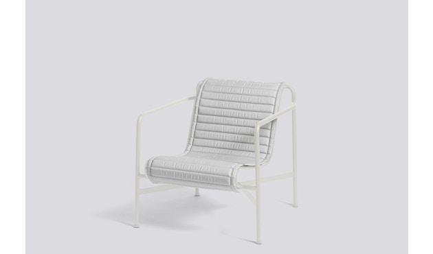 HAY - Sitzauflage für Palissade Lounge Chair Low - gesteppt - sky grey - 4