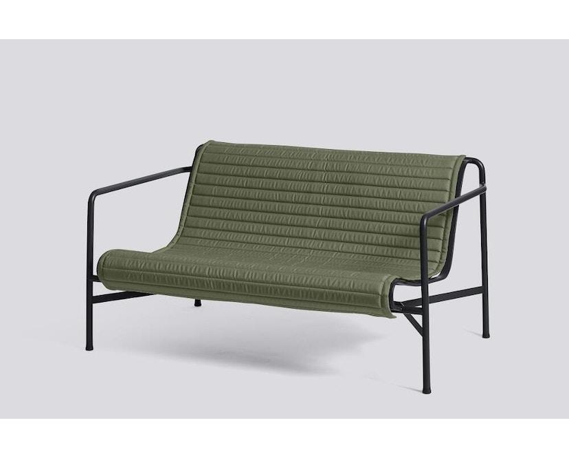 HAY - Sitzauflage für Palissade Lounge Sofa - gesteppt - olive - 2