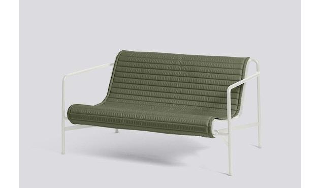 HAY - Sitzauflage für Palissade Lounge Sofa - gesteppt - olive - 3