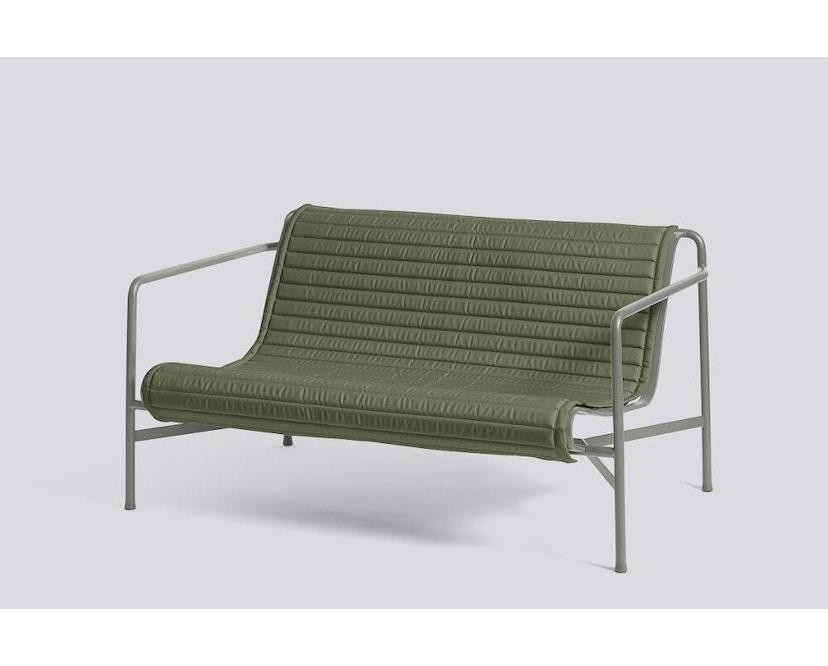 HAY - Sitzauflage für Palissade Lounge Sofa - gesteppt - olive - 5