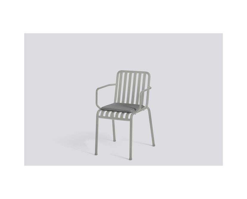 HAY - Sitzkissen für Palissade Chair und Arm Chair - anthrazit  - 2
